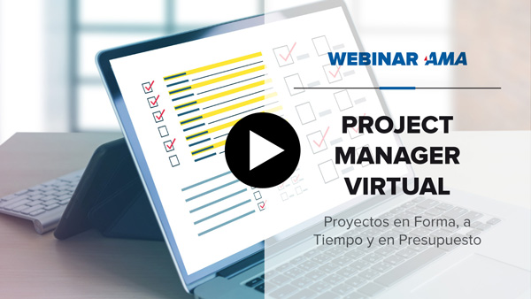 Webinar project manager