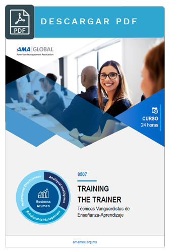 Curso training the trainer